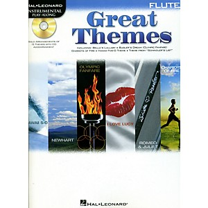 Hal-Leonard-Great-Themes---Instrumental-Play-Along-Book-CD-Flute