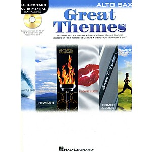 Hal-Leonard-Great-Themes---Instrumental-Play-Along-Book-CD-Alto-Sax