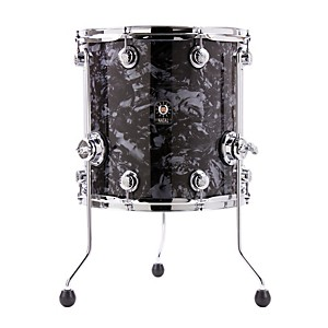 Natal-Drums-Ash-Series-Floor-Tom-Black-Swirl-14x14