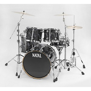 Natal-Drums-Ash-Rock-5-Piece-Shell-Pack-Black-Swirl