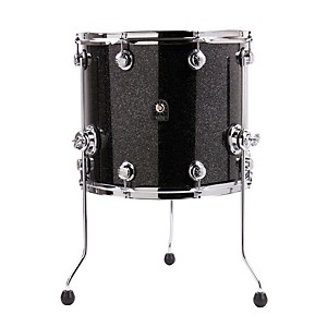 Natal-Drums-Birch-Series-Floor-Tom-Black-Metallic-16x14