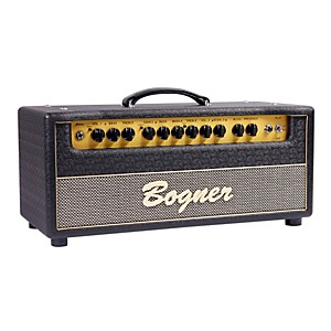 Bogner-Shiva-Tube-Guitar-Amp-Head-with-EL34-Power-Tubes-Jet-Comet-Tolex-Salt-and-Pepper-Grille