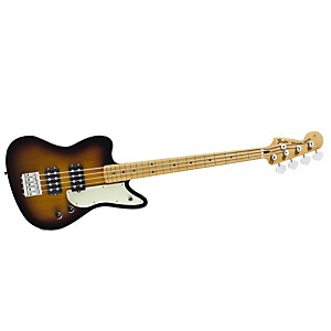 Fender-Pawn-Shop-Reverse-Jaguar-Electric-Bass-Guitar-2-Color-Sunburst-Maple-Fingerboard