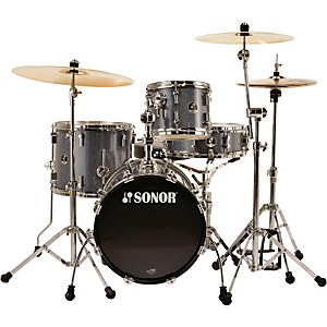 Sonor-Safari-4-Piece-Shell-Pack-Black-Galaxy-Sparkle