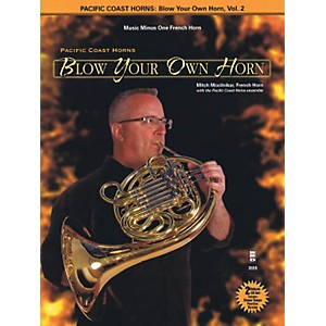 Hal-Leonard-Pacific-Coast-Horns---Blow-Your-Own-Horn--Vol--2-for-French-Horn-Book-2CD-Standard