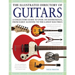 Hal-Leonard-The-Illustrated-Directory-Of-Guitars-hard-cover-book-Standard