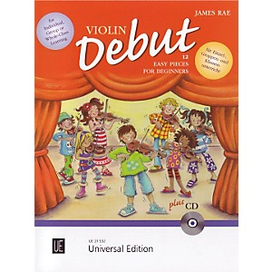 Theodore-Presser-Violin-Debut---Pupils-Book--Book---CD--Standard