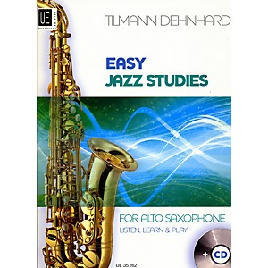 Theodore-Presser-Easy-Jazz-Studies--Book---CD--Standard