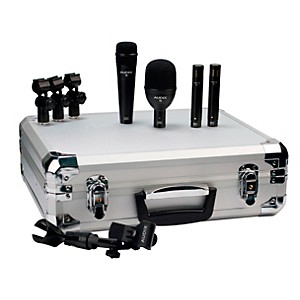 Audix-FP-Quad-4-Piece-Drum-Microphone-Pack-Standard