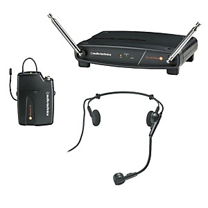 Audio-Technica-System-8-Wireless-System-includes--PRO-8HEcW-headworn-microphone-169-505-MHz