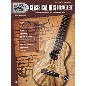 Alfred-Easy-Ukulele-Play-Along-Classical-Hits-for-Ukulele-Book---CD-Standard