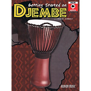 Hal-Leonard-Getting-Started-On-Djembe--Book-DVD--Standard