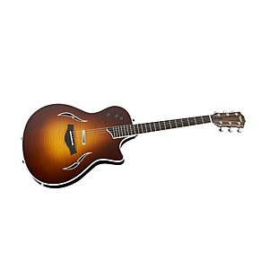 Taylor-T5-S1-Standard-Hollowbody-Electric-Guitar-Tobacco-Sunburst-Curly-Mpale-Top