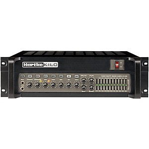 HARTKE-Kilo-1000-Watt-Tube-Bass-Amp-Head-Black