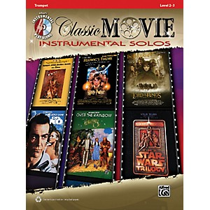 Alfred-Classic-Movie-Instrumental-Solos-Trumpet-Play-Along-Book-CD-Standard