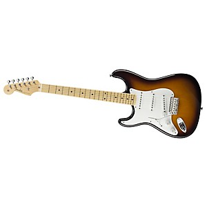Fender-American-Vintage--56-Stratocaster-Left-Handed-Electric-Guitar-2-Color-Sunburst-Maple-Neck