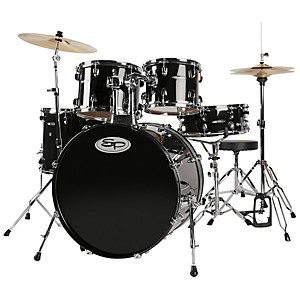 Sound-Percussion-5-Piece-Shell-Pack-Black