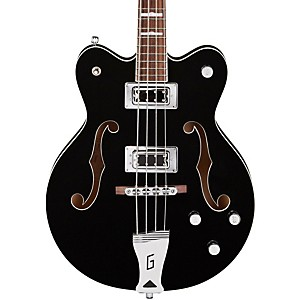 Gretsch-Guitars-G5442BDC-Electromatic-Short-Scale-Hollowbody-Bass-Black