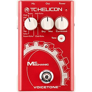TC-Helicon-VoiceTone-Mic-Mechanic-Reverb--Delay----Pitch-Correction-Pedal-Standard