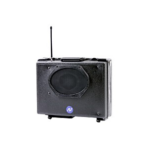 Amplivox-Portable-Buddy-PA-System-Black