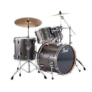 Pearl-VBL-Vision-Birch-5-Piece-Shell-Pack-w-22--Bass-Drum-Graphite-with-Chrome-Hardware