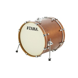 Tama-Silverstar-Custom-Bass-Drum-Antique-Brown-Birch-18x22