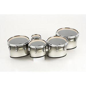 Pearl-Maple-CarbonCore-Marching-Tenors-Sonic-Cut--Drums---Spacers-only--Black-Silver-Burst-6-10-12-13-14