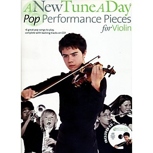 Music-Sales-A-New-Tune-A-Day---Pop-Performance-Pieces-for-Violin-Book-CD-Standard