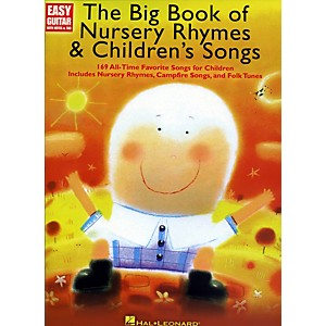 Music-Sales-The-Big-Book-Of-Nursery-Rhymes---Children-s-Songs---Easy-Guitar-With-Tab-Standard
