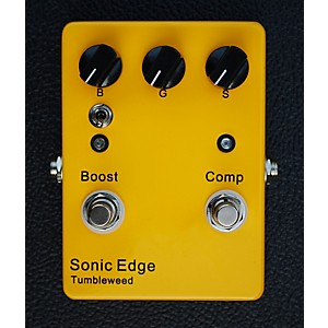 Sonic-Edge-Tumbleweed-Clean-Boost-Compression-Guitar-Effects-Pedal-Standard