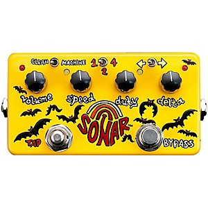 Zvex-Sonar-Tremolo-Guitar-Effects-Pedal-Standard
