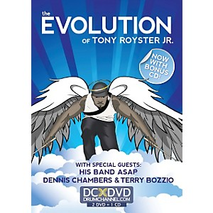 Alfred-Tony-Royster-Evolution-2-DVDs---CD-Standard