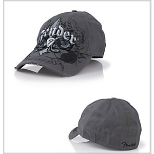 Fender-Fleur-de-Funk-Stretch-Cap-Charcoal-Large-Extra-Large