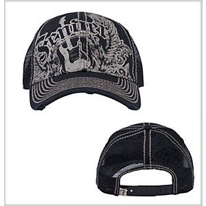 Fender-Fender-Wings-Trucker-Cap-Black