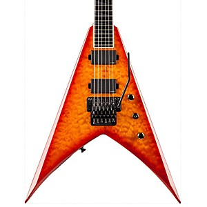 Jackson-KVMG-Pro-V-King-Quilt-Maple-Electric-Guitar-Amber-Sunburst