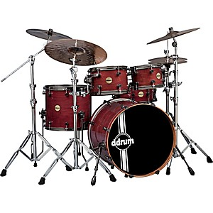 ddrum-Paladin-Walnut-5-Piece-Shell-Pack-Ember-Red