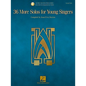 Hal-Leonard-36-More-Solos-For-Young-Singers---Book-CD-Standard