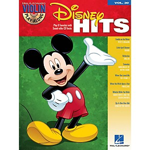 Hal-Leonard-Disney-Hits---Violin-Play-Along-Volume-30-Book-CD-Standard