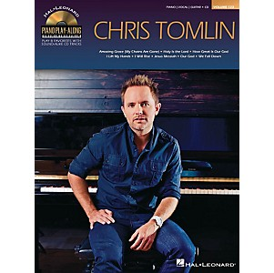 Hal-Leonard-Chris-Tomlin---Piano-Play-Along-Volume-123-Book-CD-Standard