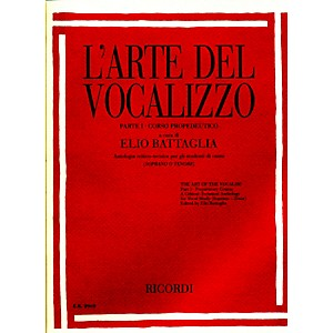 Ricordi-L-arte-Del-Vocalizzo-The-Art-of-the-Vocalise---Part-I-Soprano-tenor-Standard