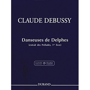 Durand-Claude-Debussy-Danseuses-de-Delphes-Book-1-For-Piano-Standard