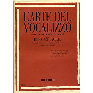 Ricordi-L-arte-Del-Vocalizzo-The-Art-of-the-Vocalise---Part-II-Soprano-tenor-Standard