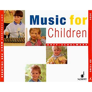 Schott-Music-For-Children-Accompaniment-CD-s--Complete-Set-Of-3--for-Orff-Standard