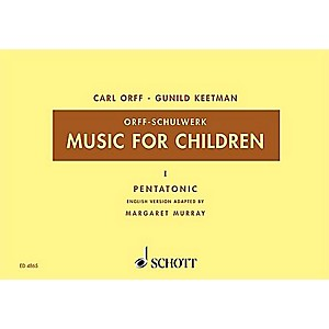 Schott-Music-For-Children--Vol--2-Major-Bordun-by-Carl-Orff-Arranged-by-Hall-Walter-Standard
