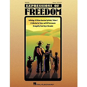 Hal-Leonard-Expressions-Of-Freedom-Volume-1--Anthlogy-of-African-American-Spirituals--by-Rene-Boyer-Alexander--O-Standard