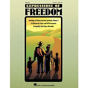 Hal-Leonard-Expressions-Of-Freedom-Volume-2--Anthlogy-of-African-American-Spirituals--by-Rene-Boyer-Alexander--O-Standard