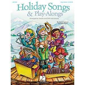 Hal-Leonard-Holiday-Songs---Play-Alongs-Song-Collection-For-Voice-and-Orff-Standard