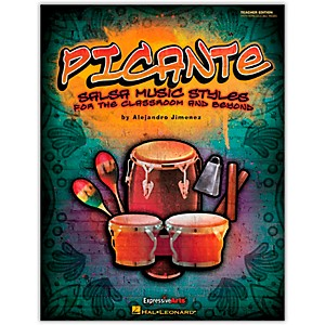 Hal-Leonard-Picante---Salsa-Music-Styles-for-the-Classroom---Beyond-Teacher-s-Edition--Orff--Standard