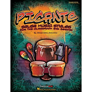 Hal-Leonard-Picante---Salsa-Music-Styles-for-the-Classroom---Beyond-CD--Orff--Standard