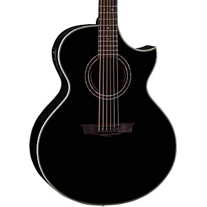 Dean-Natural-Series-Florentine-Cutaway-Acoustic-Electric-Guitar-with-Aphex-Classic-Black